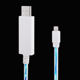 Câble lightning lumineux