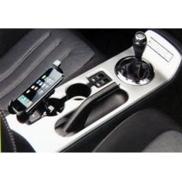 Chargeur voiture avec support intégré pour iPhone
