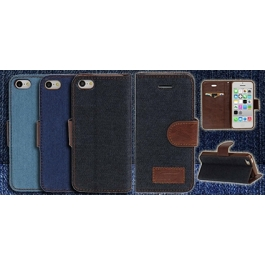 Etui iPhone 5C Jeans Style