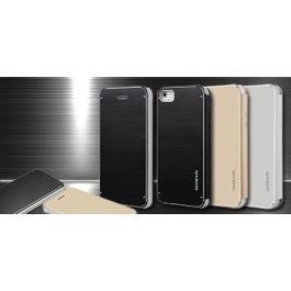 Etui iPhone 5 et 5S Flip en aluminium brossé