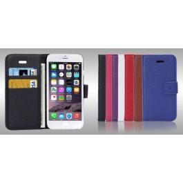 Housse porte-cartes en cuir iPhone 6