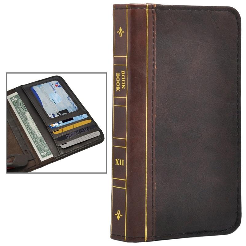 Housse en cuir design livre iphone 6 6s iphony for Housse cuir iphone 6