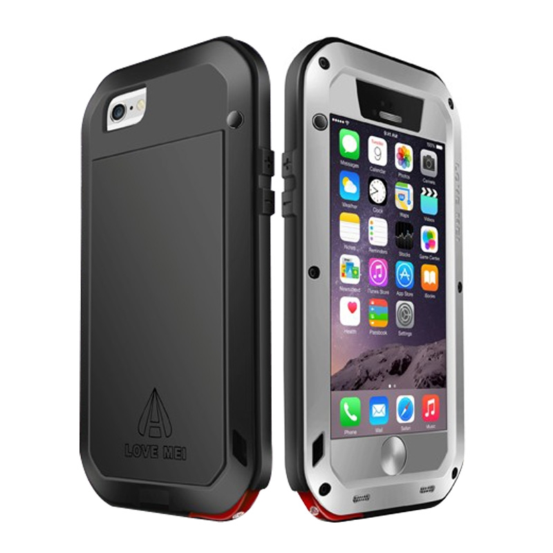 coque ultra r sistante waterproof shockproof pour iphone 6 6s mobile store. Black Bedroom Furniture Sets. Home Design Ideas