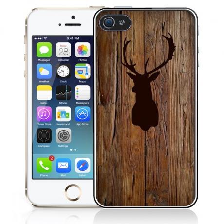 coque iphone 5 en bois