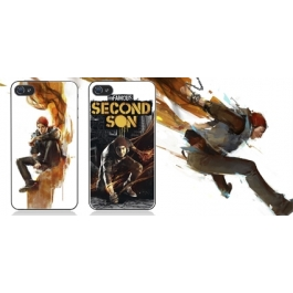 Coque iPhone 4 et 4S inFamous Second Son