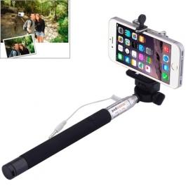 Perche à Selfie extensible avec bouton intégré - longueur 1m