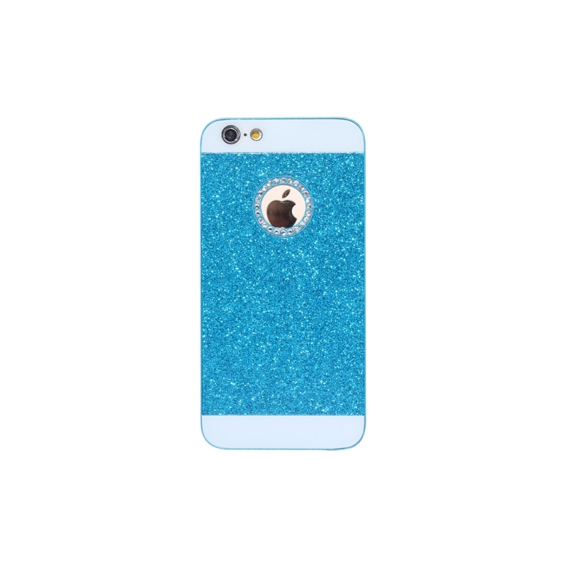 coque iphone 6 6s paillettes et strass logo apple iphony. Black Bedroom Furniture Sets. Home Design Ideas