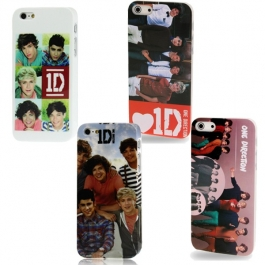 Coque de protection en plastique motif One direction iPhone 5