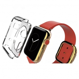 Coque silicone transparente Apple Watch 42mm