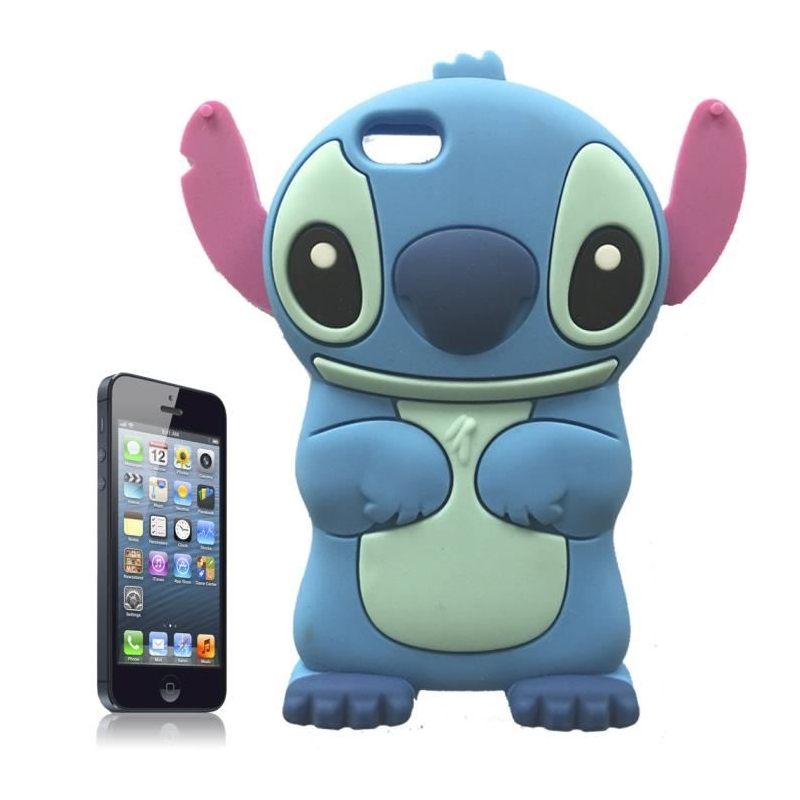 Coque iPhone 5 / 5S Stitch Silicone 3D iPhony