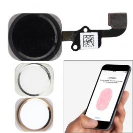 Bouton Home de remplacement avec capteur d'empreinte iPhone 6 et 6 Plus