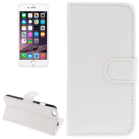 Housse Porte-Cartes en cuir iPhone 6 et 6S - Blanc