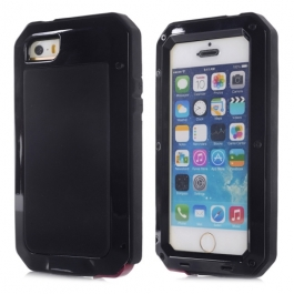 Coque iPhone waterproof anti-choc 5 / 5S / SE - Noir