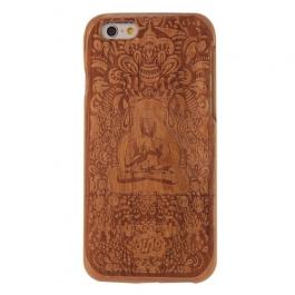 coque Iphone 6 / 6S uniquement bois motif Buddha