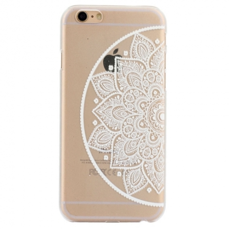 coque iphone 6 transparente mandala