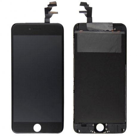 ecran lcd tactile complet r paration iphone 6 plus noir mobile store. Black Bedroom Furniture Sets. Home Design Ideas