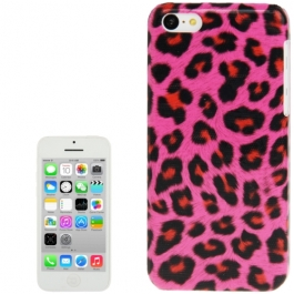 coque iPhone 5C Léopard - Mangenta
