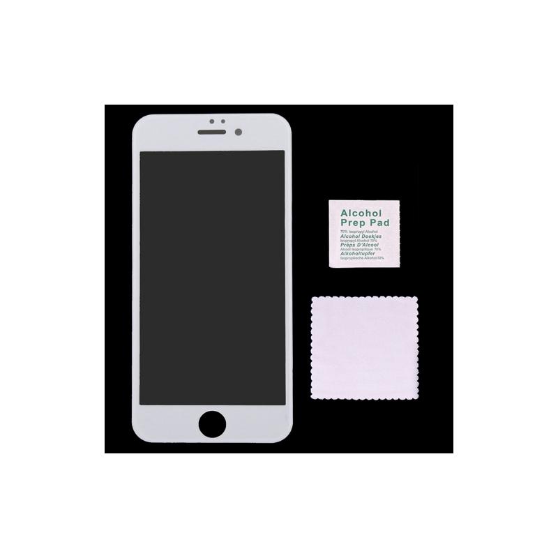 vitre verre tremp iphone 6 6s blanc mobile store. Black Bedroom Furniture Sets. Home Design Ideas