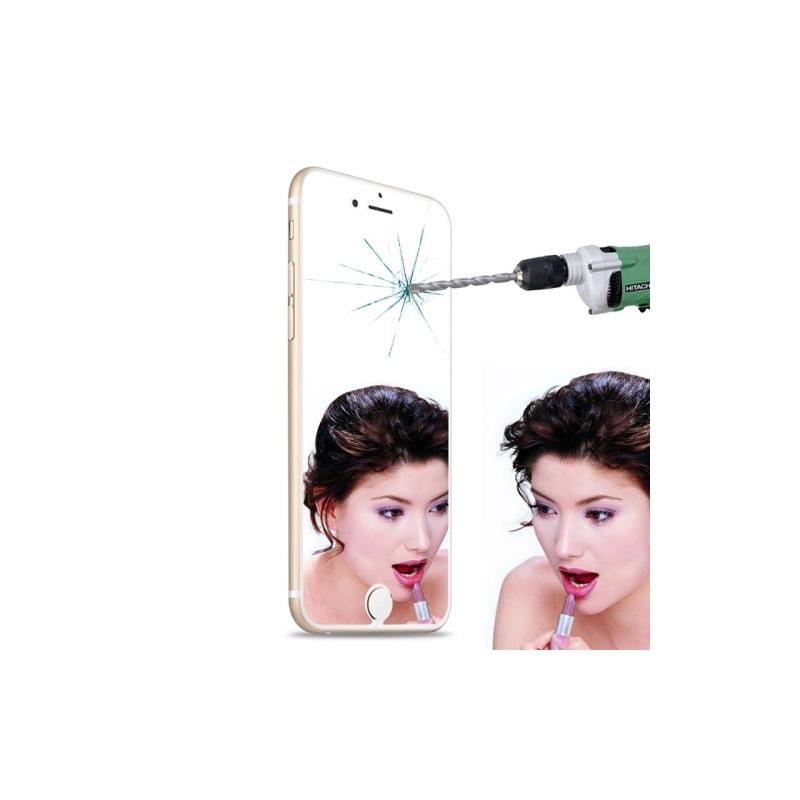 Vitre verre tremp iphone 6 6s effet miroir mobile store for Effet miroir photo iphone