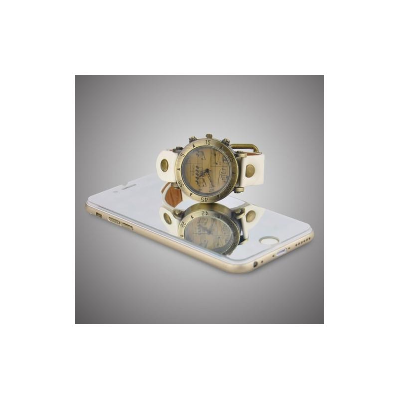 vitre verre tremp iphone 6 6s effet miroir mobile store. Black Bedroom Furniture Sets. Home Design Ideas