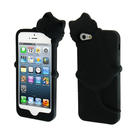 coque iphone 5 silicone chat