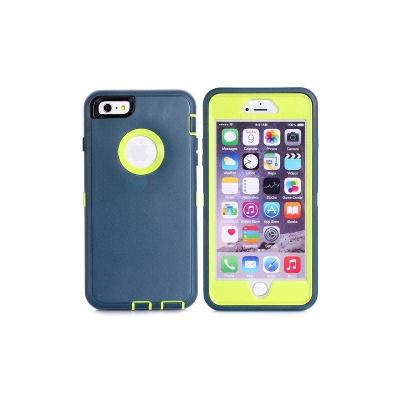 coque iphone 6 plus antichoc bleu