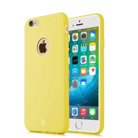 coque iphone 6 plus jaune