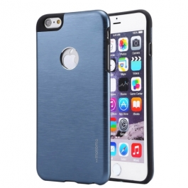 Coque iPhone 6 / 6S MOTOMO logo Apple - bleu