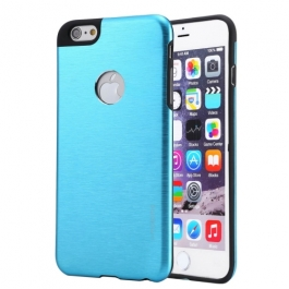 Coque iPhone 6 / 6S MOTOMO logo Apple - Turquoise