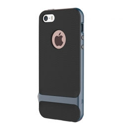 Coque iPhone 6 / 6S ROCK anti-dérapante - Gris