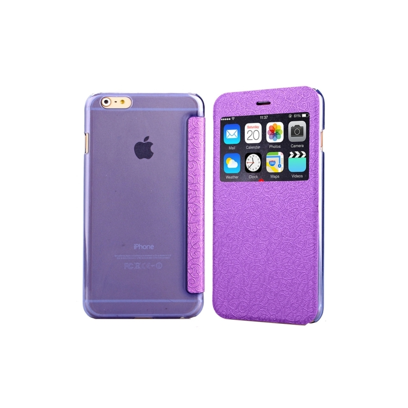 coque violet iphone 6