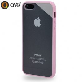 Coque iPhone 5 / 5S / SE Q-case transparente - Rose