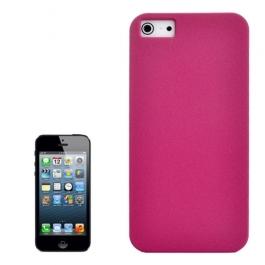 Coque iPhone 5 / 5S / SE sable mouvant givré - Rose
