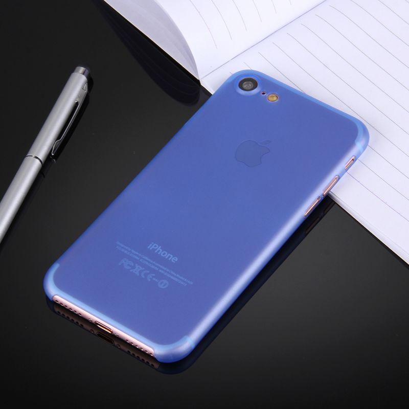 coque ultra slim pour iphone 7 bleu mobile store. Black Bedroom Furniture Sets. Home Design Ideas