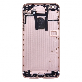 Chassis style iPhone 6S pour iPhone 6 (Or Rose)