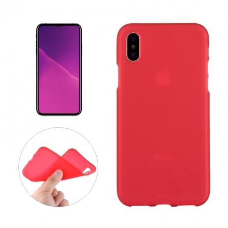 coque iphone x rouge