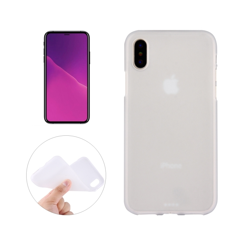 coque iphone x silicone rouge