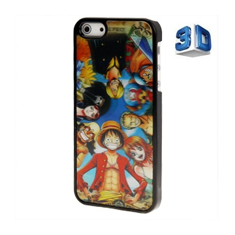coque one piece 3d iphone 5 iphony. Black Bedroom Furniture Sets. Home Design Ideas