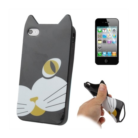 coque iphone 4 chat