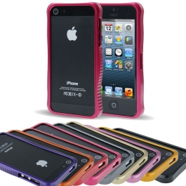 Bumper de protection en métal iPhone 5