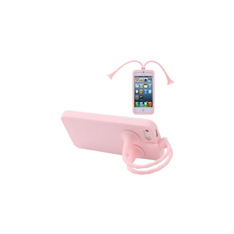 coque support antennes silicone iphone 5