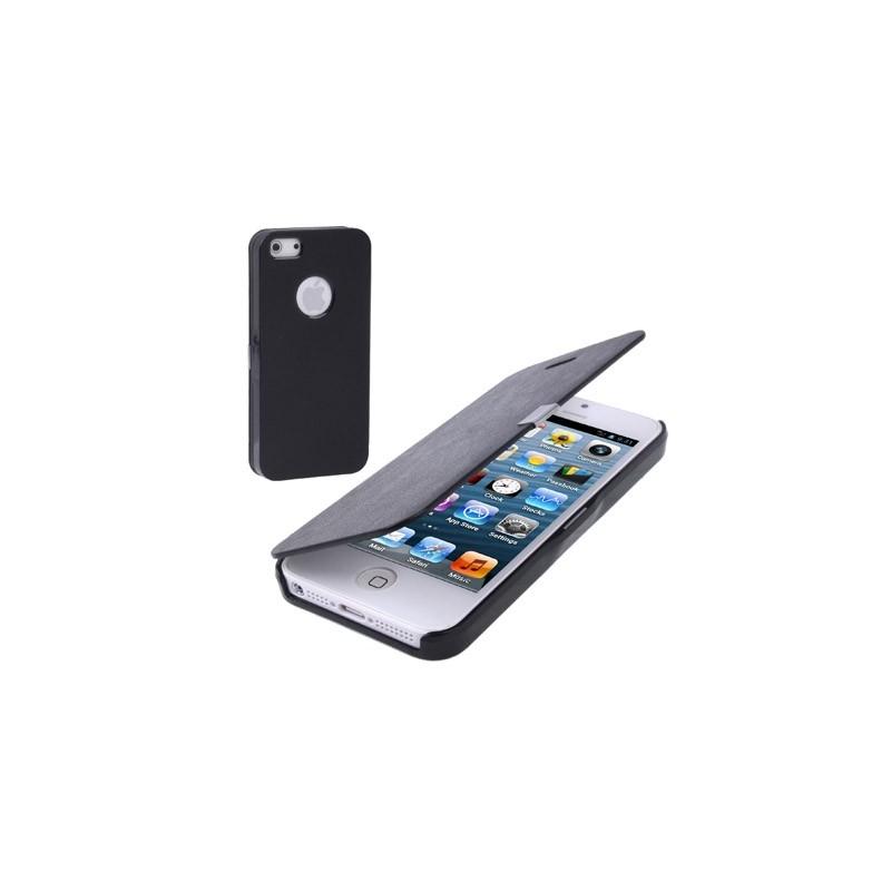 etui de protection flip en cuir iphone 5 mobile store. Black Bedroom Furniture Sets. Home Design Ideas