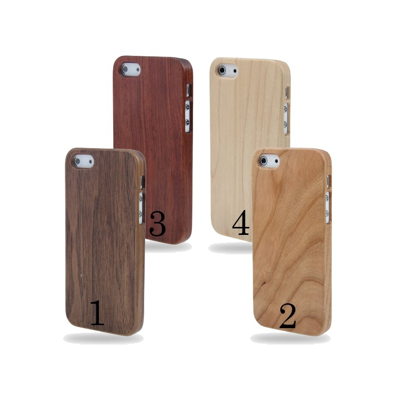 Coque de protection en bois bambou iPhone 55S  MobileStore ~ Coque Bois Iphone