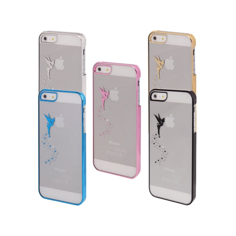 coque f e clochette transparente iphone 5 5s mobile store. Black Bedroom Furniture Sets. Home Design Ideas