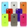 Coque iPhone semi-transparente Couleur iPhone 4, 4S