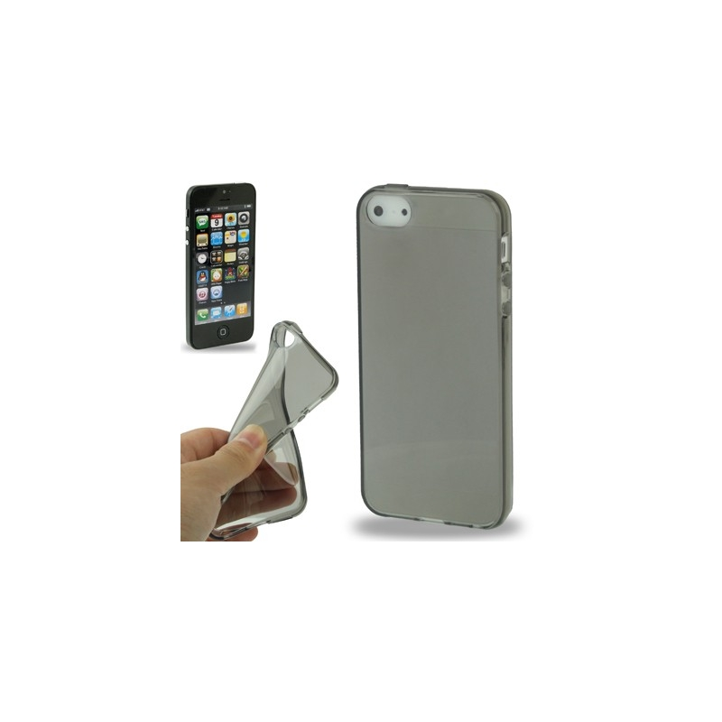 coque iphone semi transparente couleur iphone 5 mobile store. Black Bedroom Furniture Sets. Home Design Ideas
