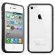 Bumper Silicone pour iPhone 4 et 4S (couleur au choix)