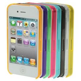Bumper Crystal pour iPhone 4 et 4S (couleur au choix)