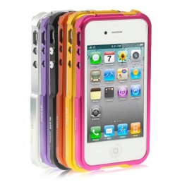 Bumper Métal pour iPhone 4 et 4S (couleur au choix)