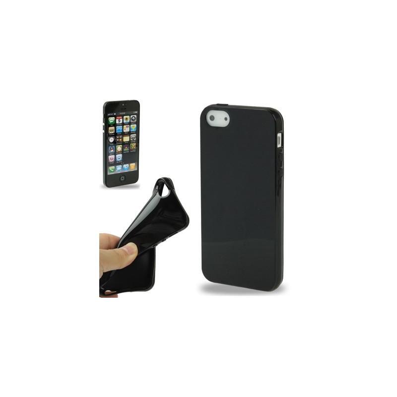 coque iphone semi transparente couleur iphone 5 iphony. Black Bedroom Furniture Sets. Home Design Ideas